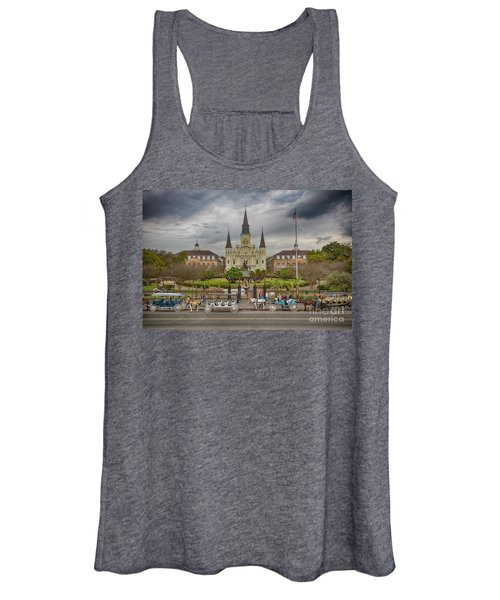 New Orleans Jackson Square Women's Tank Top