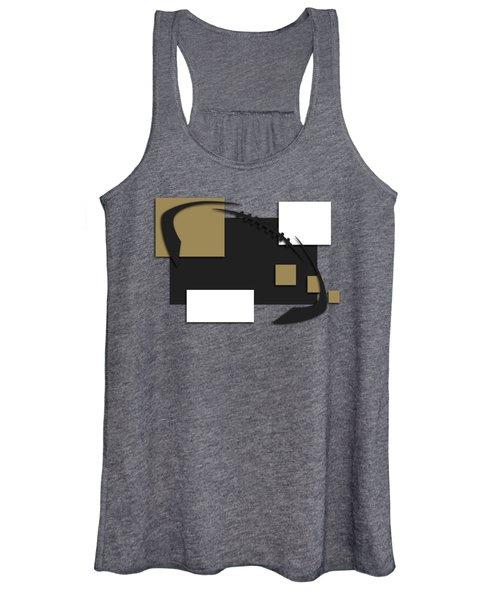 New Orleans Saints Abstract Shirt Women's Tank Top