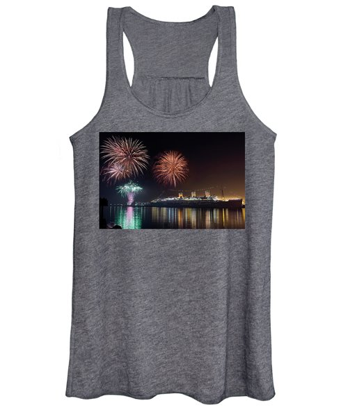 New Years With The Queen Mary Women's Tank Top