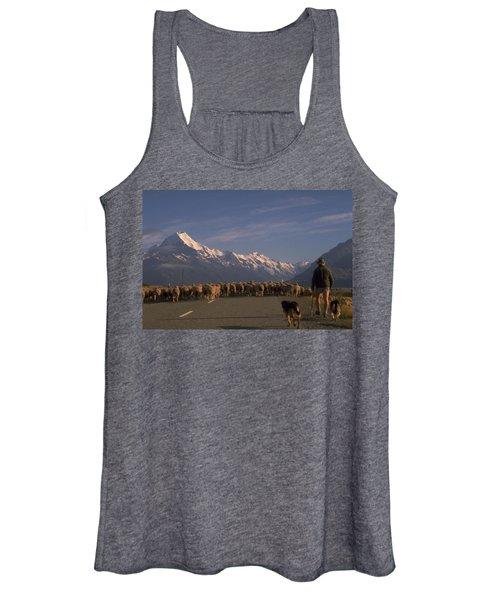 New Zealand Mt Cook Women's Tank Top