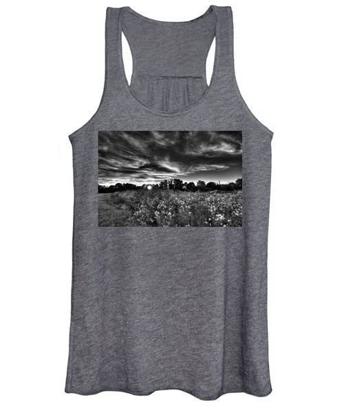 Nice And Cloudy At Sunset Women's Tank Top