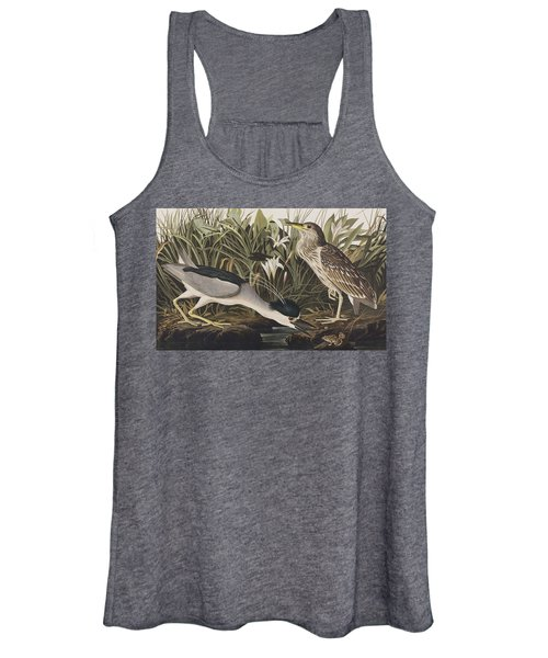 Night Heron Or Qua Bird Women's Tank Top