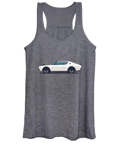Nissan Skyline Gt-r C110 Side - Plain White Women's Tank Top