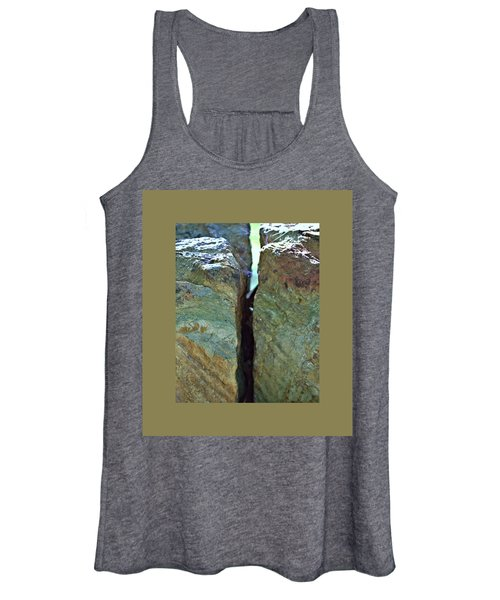 Women's Tank Top featuring the photograph Nixon Geology 31 by John Feiser