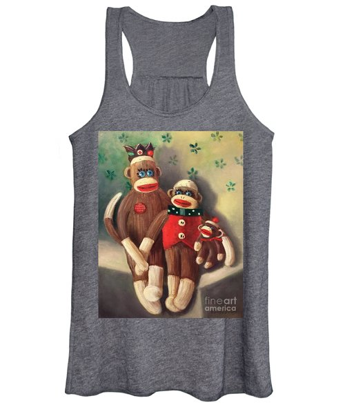No Monkey Business Here 2 Women's Tank Top