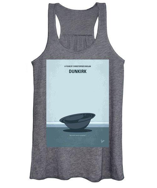 No905 My Dunkirk Minimal Movie Poster Women's Tank Top