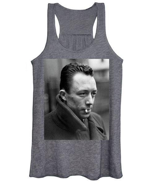 Nobel Prize Winning Writer Albert Camus Paris, France, 1962 -2015 Women's Tank Top