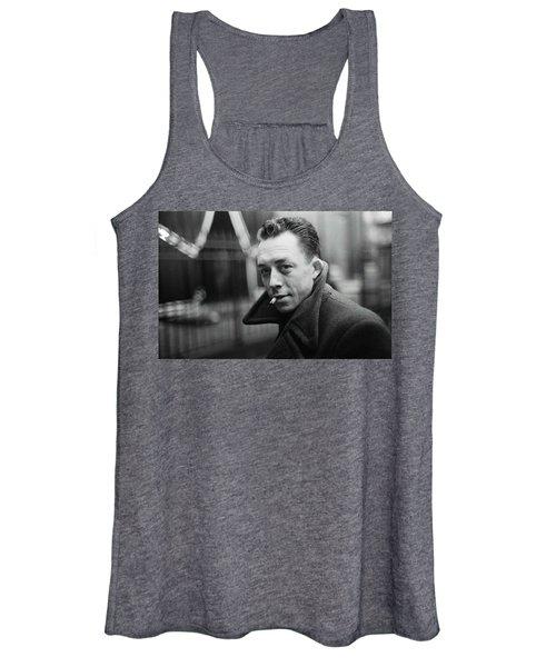 Nobel Prize Winning Writer Albert Camus Paris 1944 - 2015           Women's Tank Top