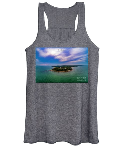 Nobska Lighthouse Panorama Women's Tank Top
