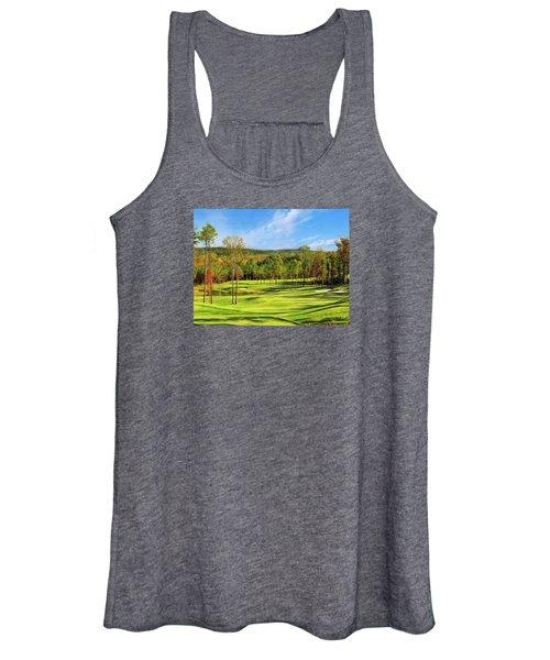 North Carolina Golf Course 14th Hole Women's Tank Top