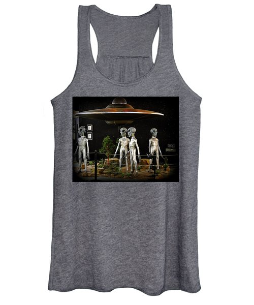 Not Of This Earth Women's Tank Top