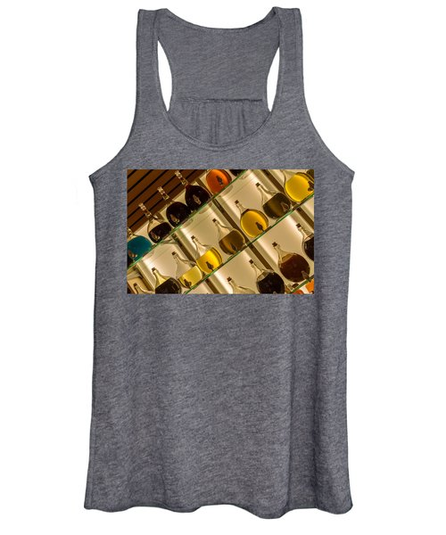 Nut-oil Carafes On Display Women's Tank Top