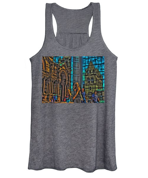 Of Light And Mirrors Women's Tank Top
