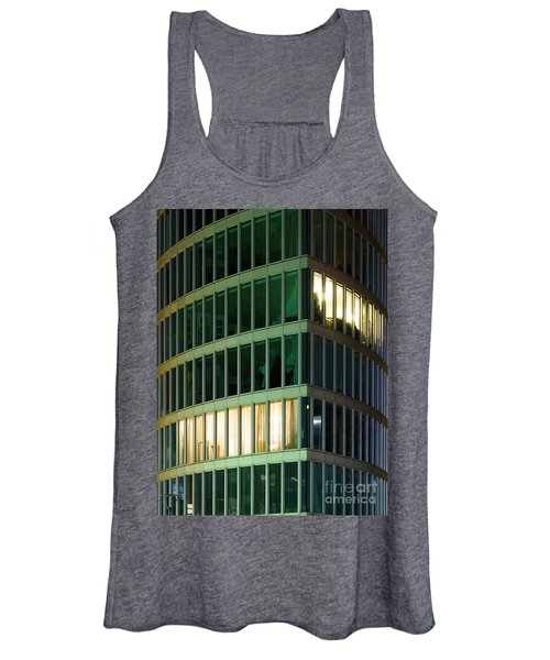 Office Building At Night Women's Tank Top