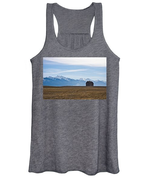 Old Barn, Mission Mountains Women's Tank Top
