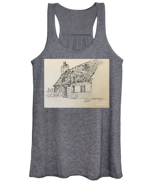 Old Cottage Women's Tank Top