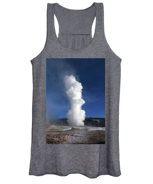 Old Faithful In Winter 2 Women's Tank Top