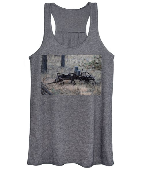 Old Farm Implement Lake George Co Women's Tank Top