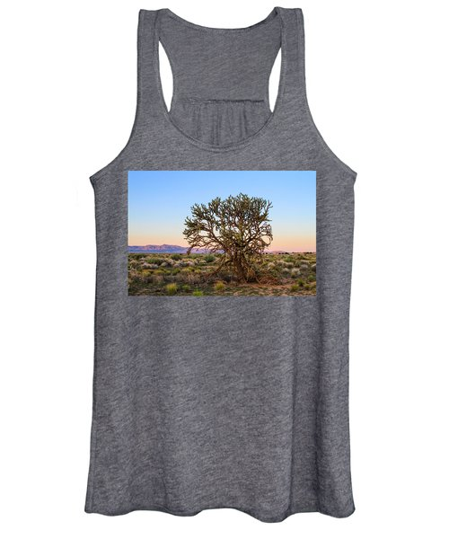 Old Growth Cholla Cactus View 2 Women's Tank Top