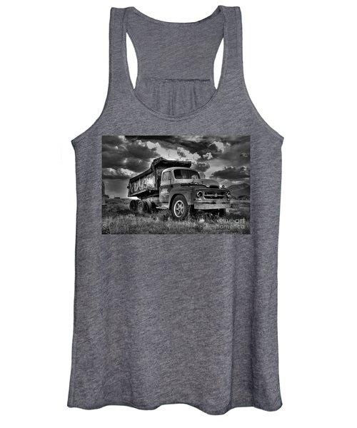 Old International #2 - Bw Women's Tank Top