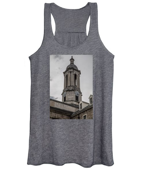 Old Main Penn State Clock  Women's Tank Top
