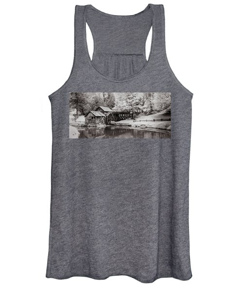 Old Mill On The Mountain Women's Tank Top