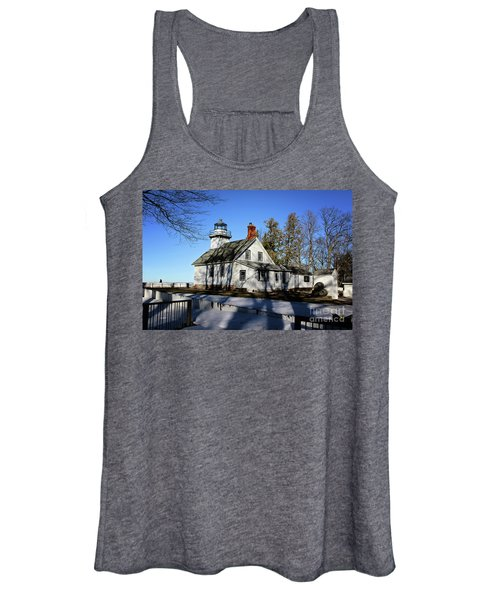 Old Mission Lighthouse Women's Tank Top