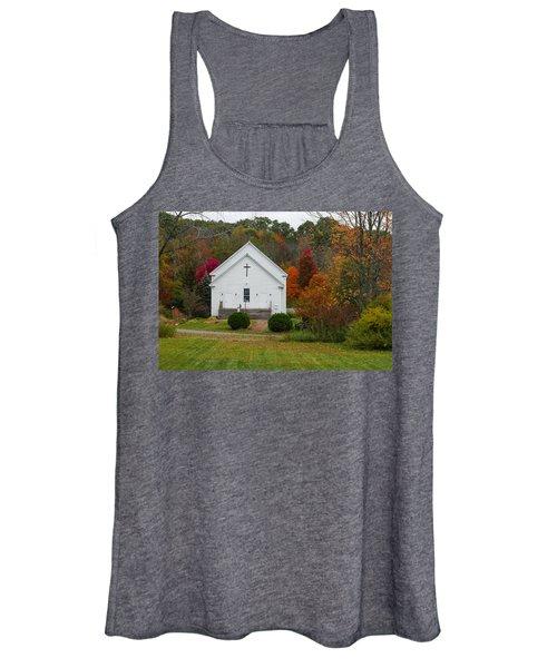 Old New England Church Women's Tank Top