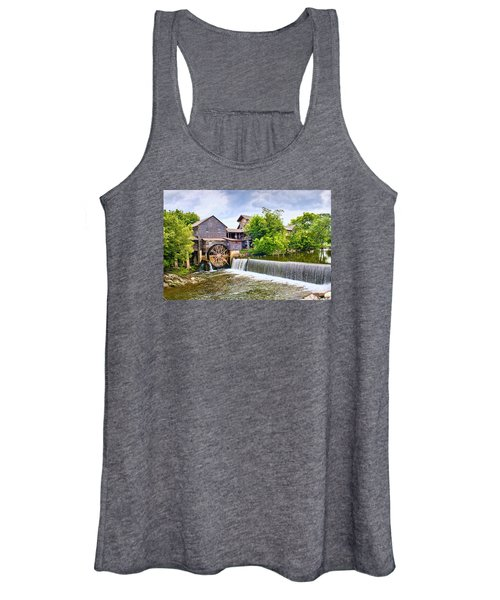 Old Pigeon Forge Mill Women's Tank Top