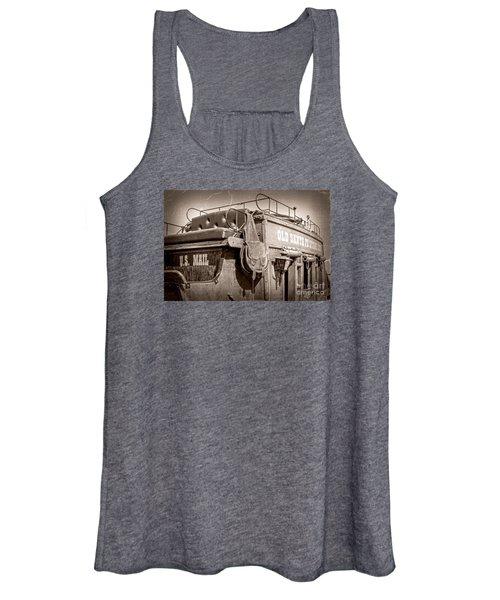 Old Santa Fe Stagecoach Women's Tank Top