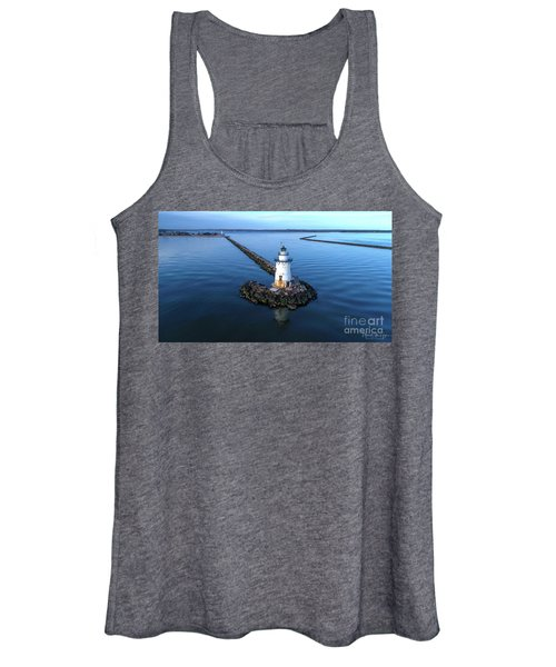 Old Saybrook Outer Lighthouse Women's Tank Top