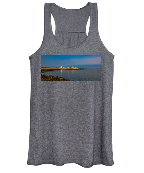 Old Scituate Light From The Jetty Women's Tank Top