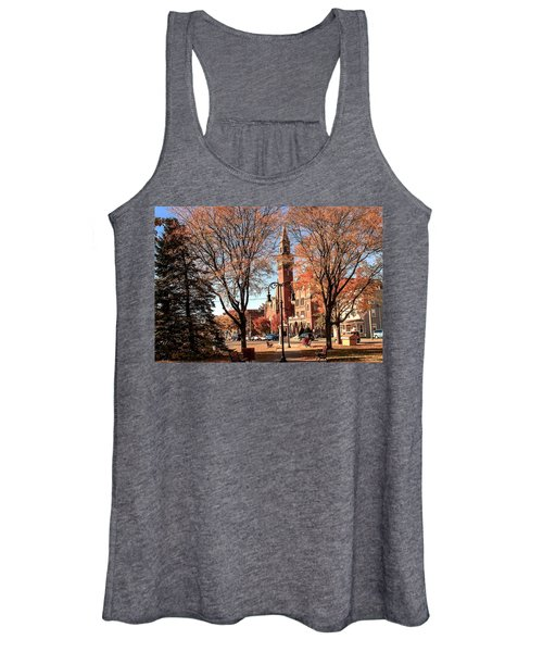 Old Town Hall In The Fall Women's Tank Top