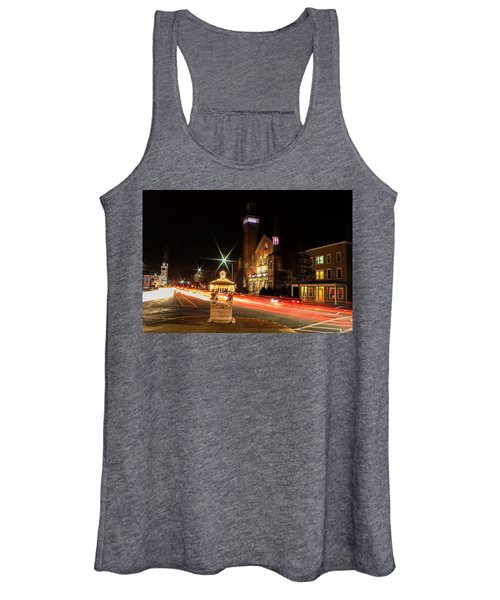 Old Town Hall Light Trails Women's Tank Top