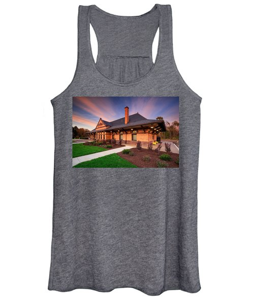 Old Train Station Women's Tank Top