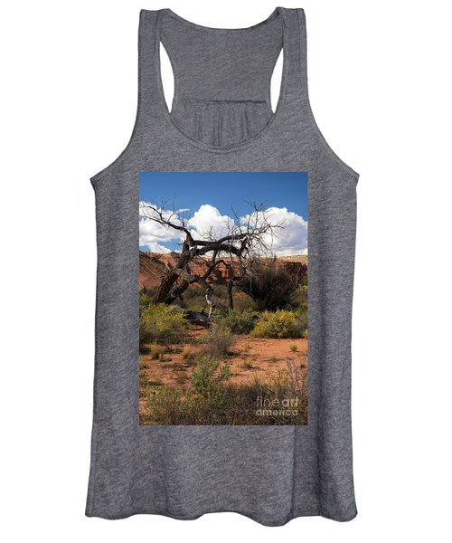 Old Tree In Capital Reef National Park Women's Tank Top