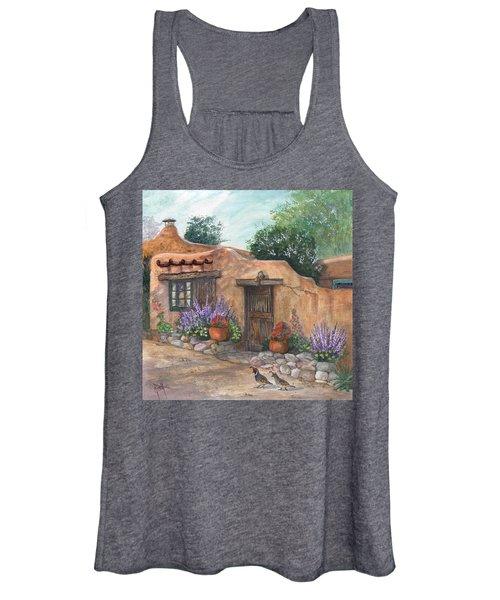 Old Adobe Cottage Women's Tank Top
