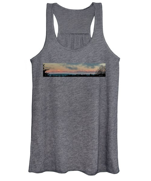 Olympic Mountains At Dawn.1 Women's Tank Top