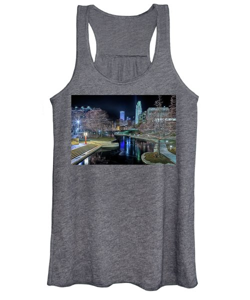Omaha Holiday Lights Festival Women's Tank Top