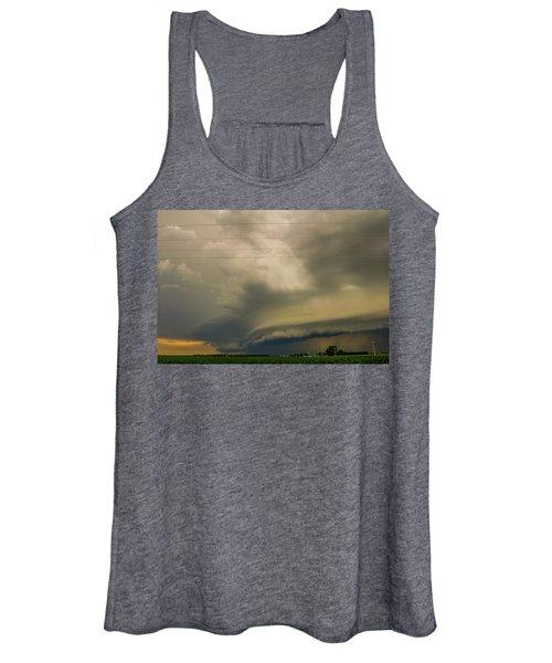 Ominous Nebraska Outflow 007 Women's Tank Top