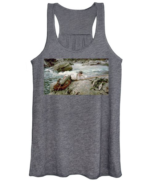 On His Holidays Women's Tank Top