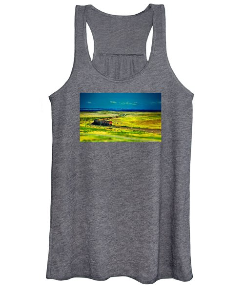 On The Rails Women's Tank Top