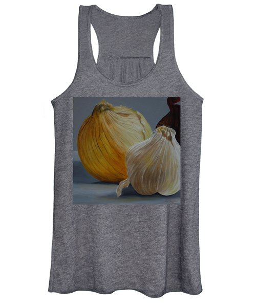 Onions And Garlic Women's Tank Top