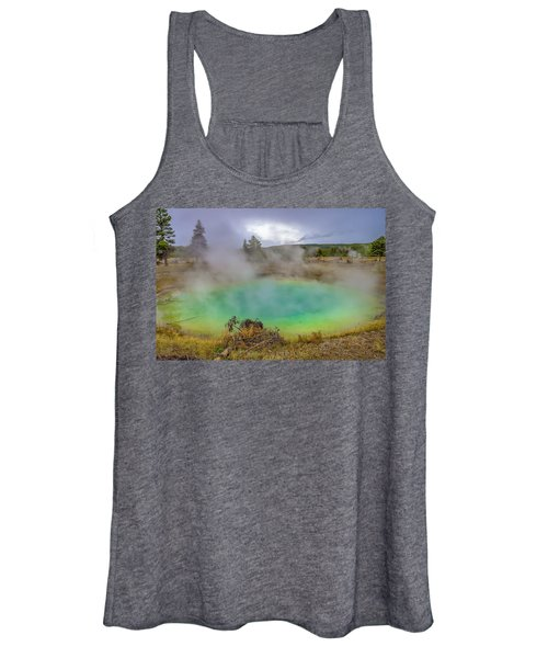 Opal Spring Yellowstone National Park Women's Tank Top