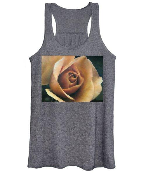 Orange Rose Women's Tank Top