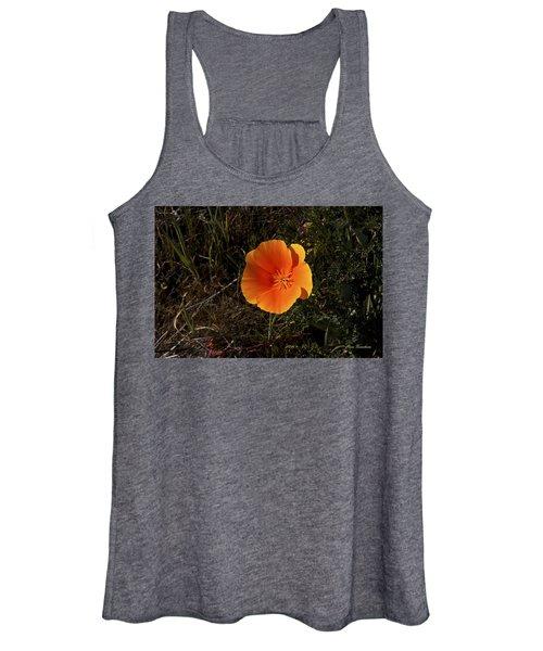 Orange Signed Women's Tank Top