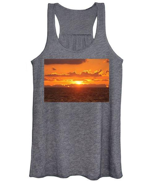 Orange Skies At Dawn Women's Tank Top