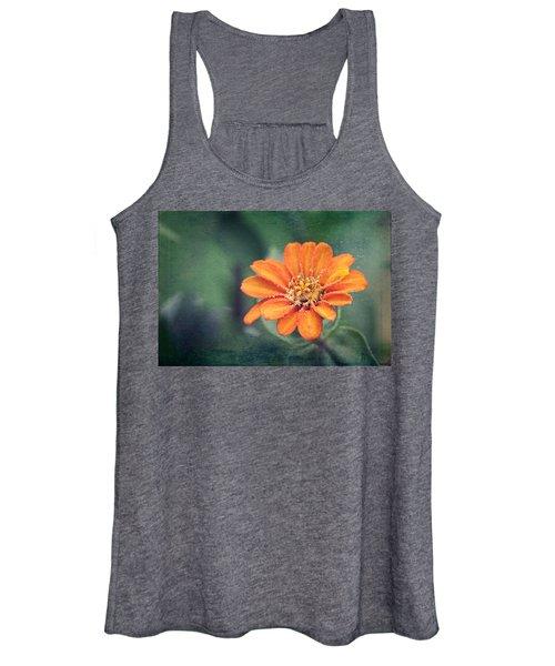 Orange Zinnia Women's Tank Top