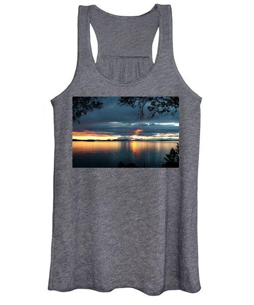 Orcas Island Sunset Women's Tank Top