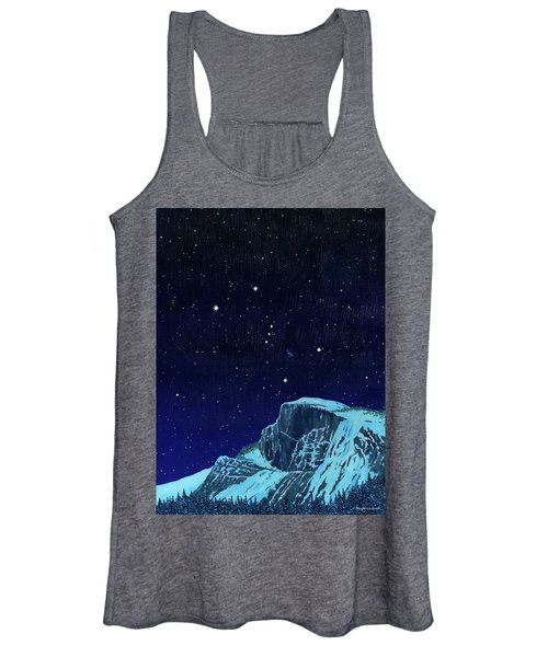 Orion Over Yosemite Women's Tank Top